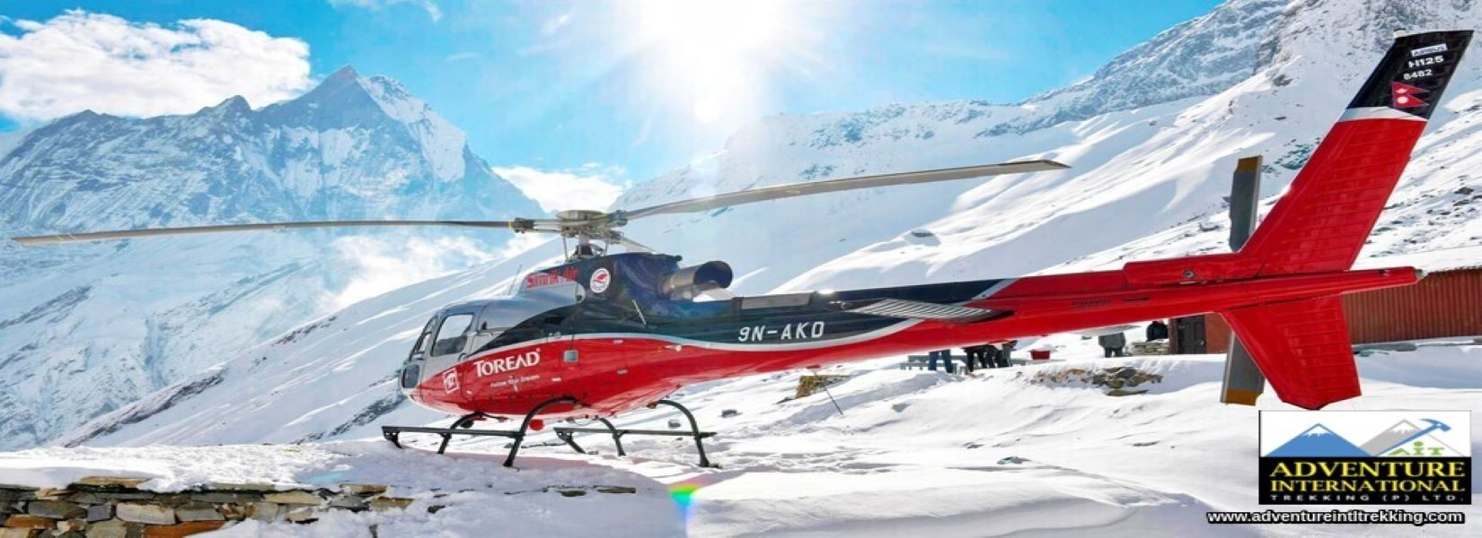 Annapurna Base Camp Helicopter Tour Booking