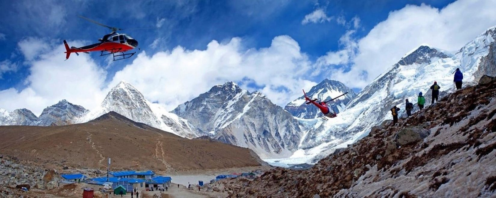 Luxuries Helicopter Tour & Short Trekking In Nepal