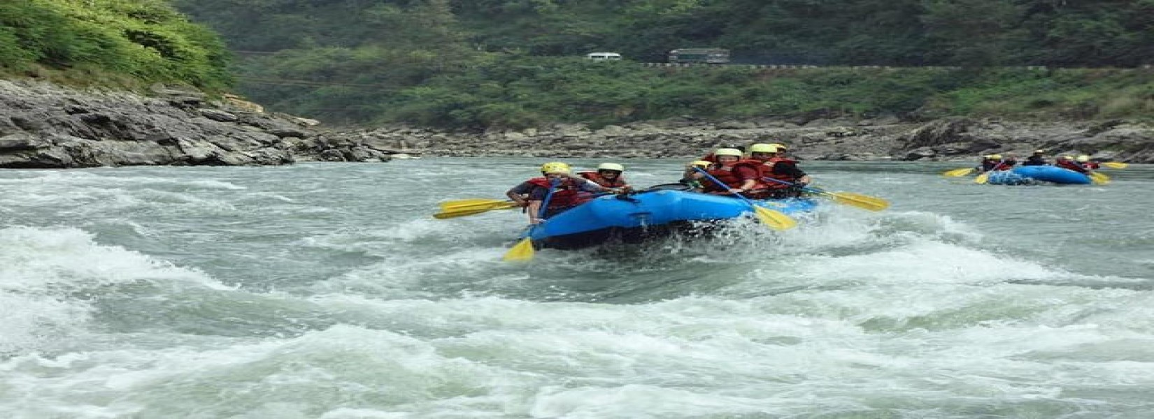 fun and adventures of Rafting over Trisuli River - 1 Day